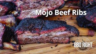 Mojo Beef Ribs    HowToBBQRight