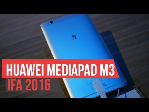 Huawei Mediapad M3 - Hands On IFA 2016