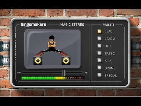 """Singomakers """"Magic Stereo"""" VST/AU plugin (used by Hardwell, W&W, Dannic and more)"""