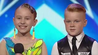 Lietuvos Talentai 2019 m. 1 serija | Arianas ir Milena