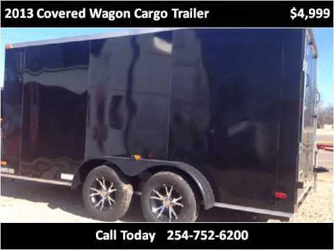 2013 Covered Wagon Cargo Trailer Used Cars Dallas TX