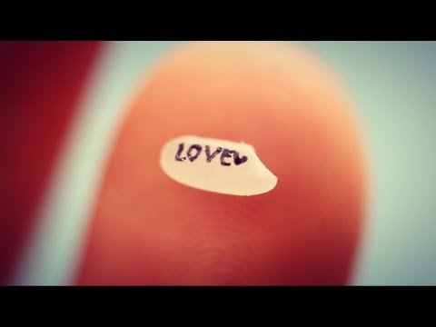 ♥ How to Write on a Grain of Rice! ♥