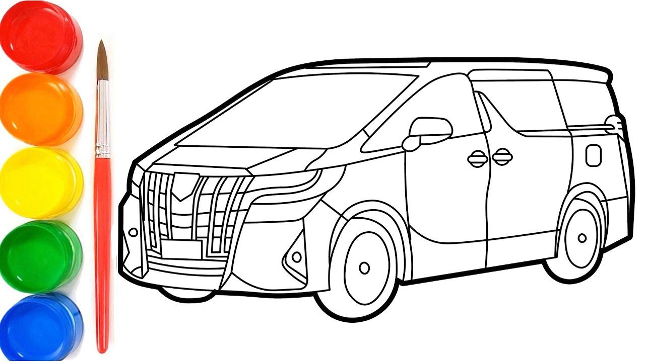 Cara Menggambar Toyota Alphard Youtube