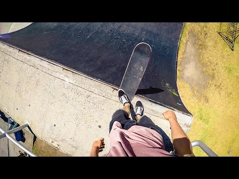 Awesome POV GoPro Hero 5 Black Skating & Surfing