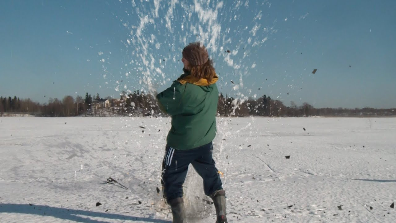 Ice fishing with grenades fisherman 39 s friend spoof youtube for Ice fishing videos on youtube