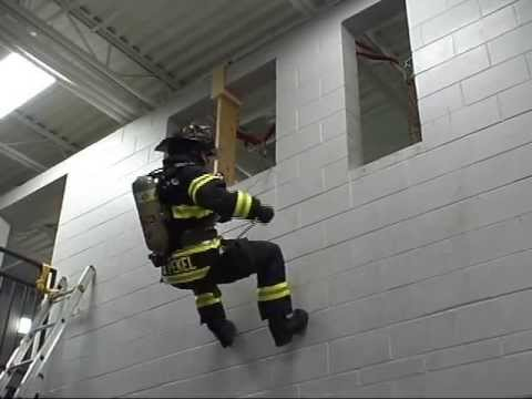 Rappelling Firefighter Escape Systems Youtube