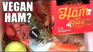 Vegan Ham Roast & What I Feed My Vegan Dog