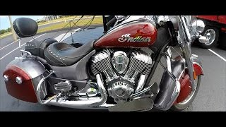 2017 INDIAN SPRINGFIELD | FIRST TIME RIDING | BEAUTIFUL BAGGER