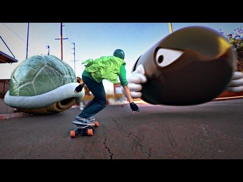 Mario Skate (60 fps!)