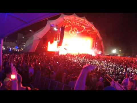Skrillex live full set @ Sunset Music Festival in Tampa, FL on May 23, 2015