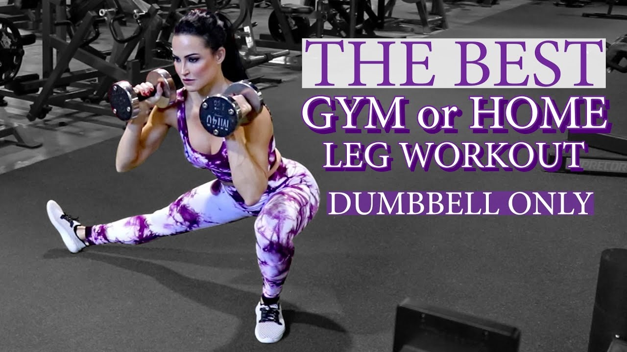 Dumbbell Leg Workout | Home or Gym - Make Gains Anywhere!