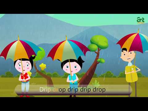 Drip Drip Drop Rain Song Animated Cartoon Animation Songs For Children Kids Baby Video