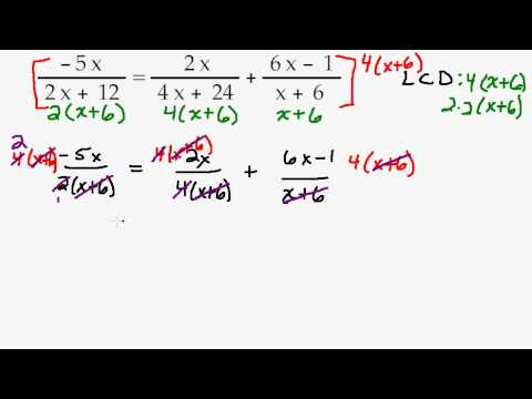how to get fraction out of denominator
