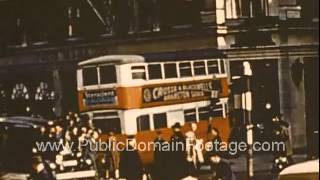 VE Day Paris and London 1945 End of WWII in Europe Raw Archival Footage - Part THREE