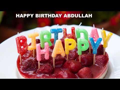 Abdullah - Cakes  - Happy Birthday ABDULLAH