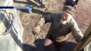 67 жаштагы аксакал өзгөчө ТРАКТОР жасап чыкты