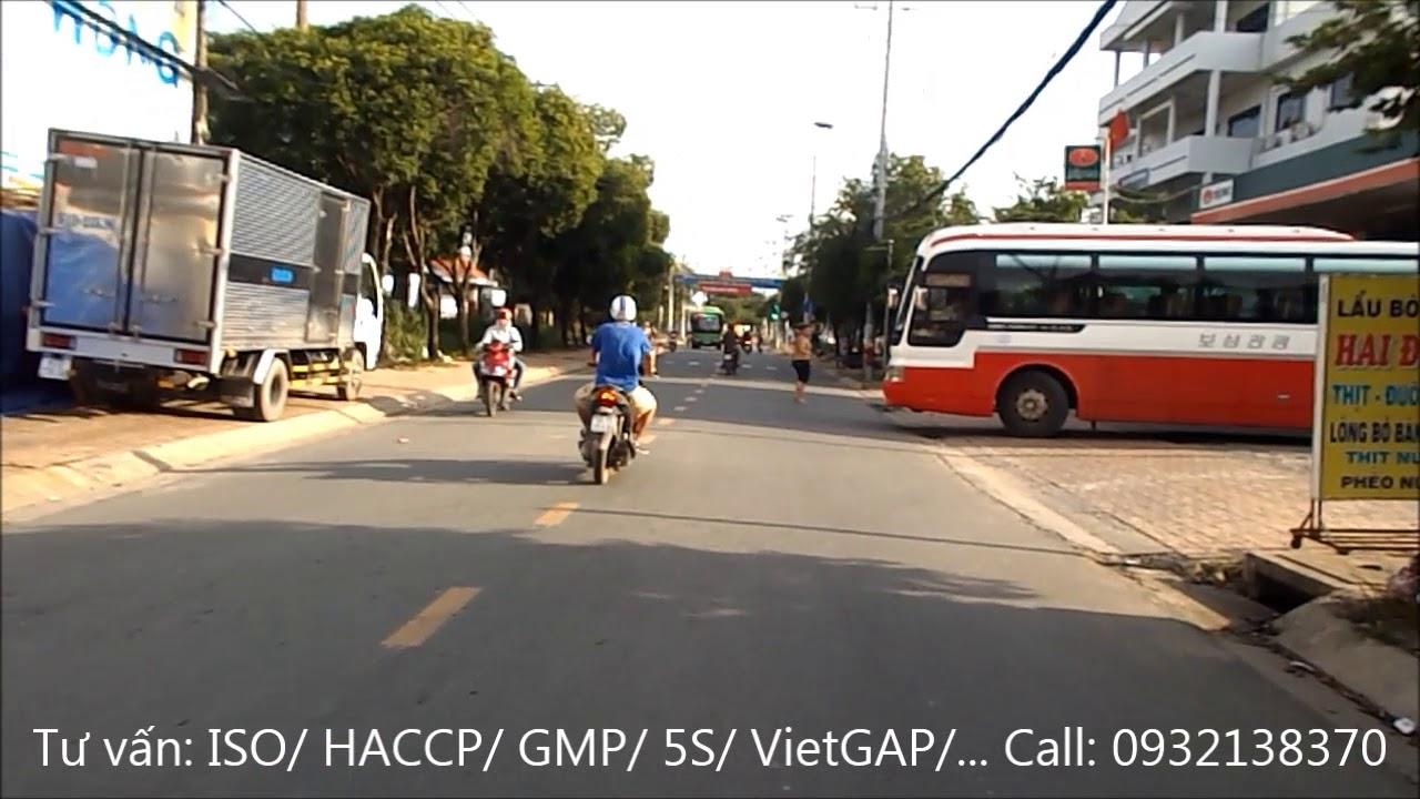 Đường Bà Triệu đi qua Bệnh Viện Hóc Môn TPHCM *** Ba Trieu street