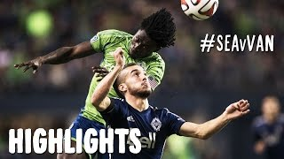 HIGHLIGHTS: Seattle Sounders vs. Vancouver Whitecaps | October 10, 2014