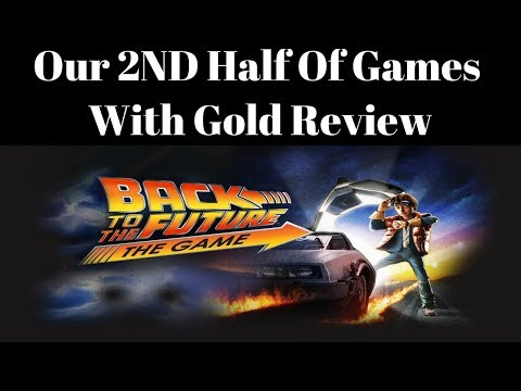 December Games With Gold Review for Back To The Future The Game