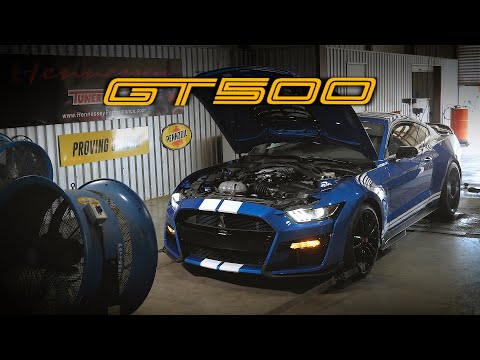 2020 Ford Mustang Shelby GT500 reaches 708 hp on Hennessey's dyno