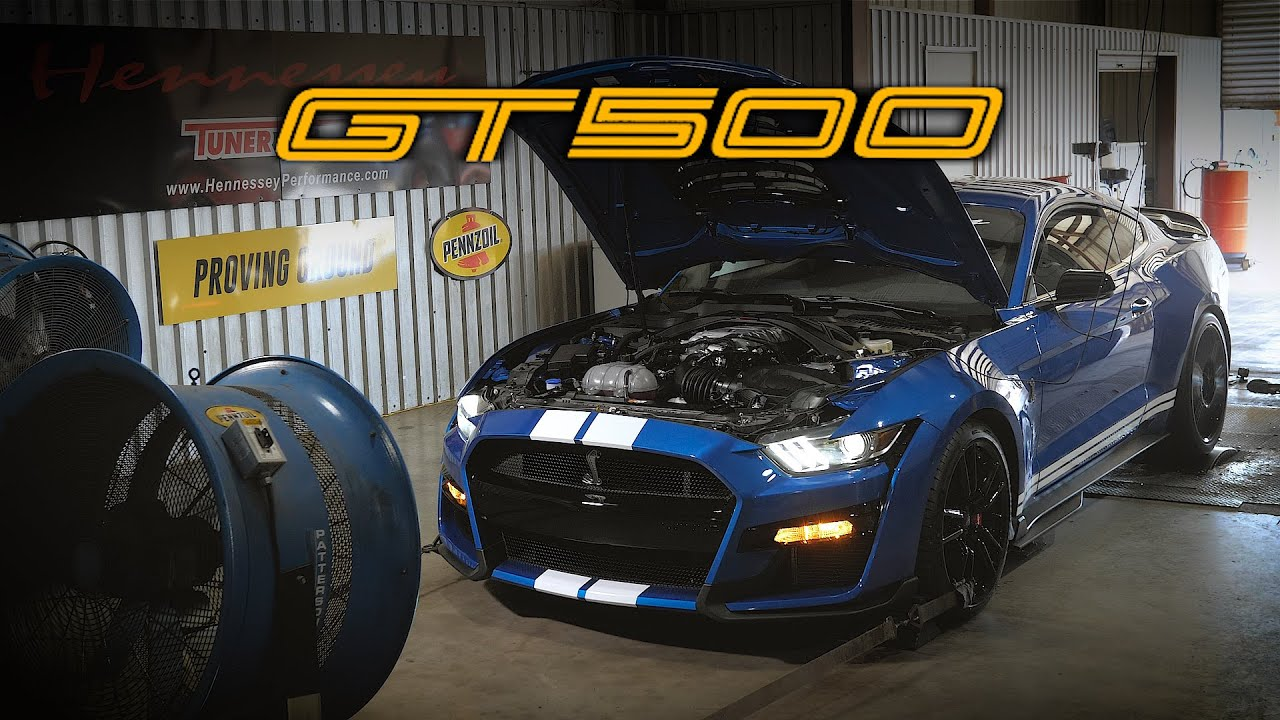 2020 GT500 Lands at Hennessey: Baseline Dyno and Test ...