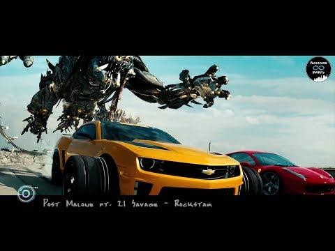 Post Malone - Rockstar ft. 21 Savage 「Transformers Dark of the Moon」