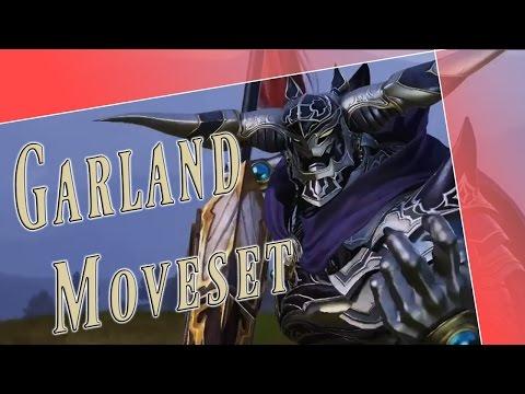 Garland Moveset + Detail - Dissidia Final Fantasy NT (DFFAC/DFFNT)