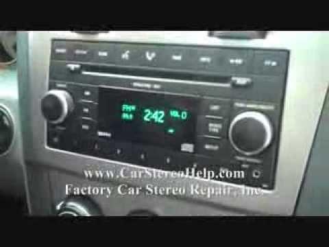 Wiring Diagram For Caravan 1997 Honda Crv Fuse Box Dodge Avenger Car Stereo Removal - Youtube