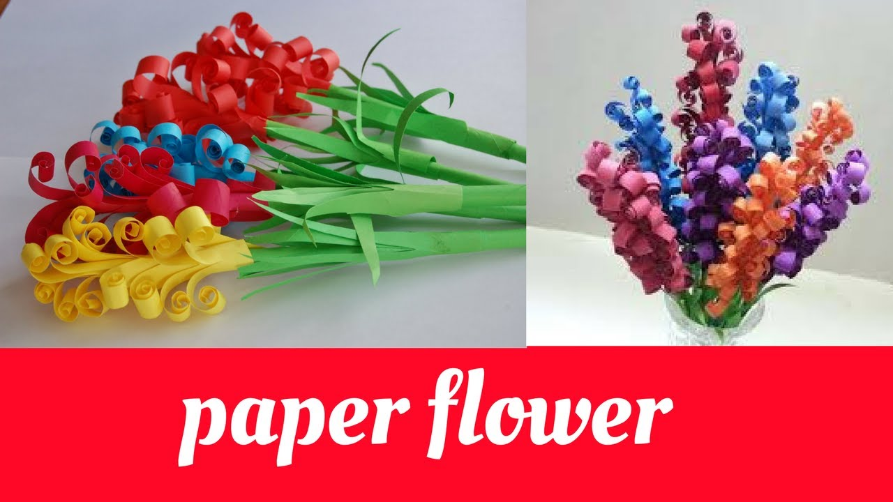 Simple Paper Flower Making At Home Easy And Quick Aesthetic Ideas