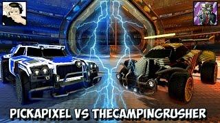 PICKAPIXEL vs THECAMPINGRUSHER | Rocket League 1v1