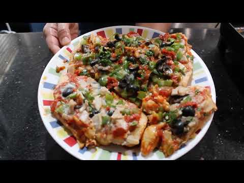 Healthy Cooking: Pizza Chicken & Pizza Stuffed Mushroom Recipes - May 14, 2021 - Sonia