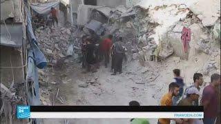 غارات جوية تستهدف من جديد أحياء في حلب وقرى في ريف حماة