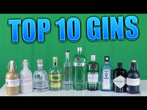 Top Ten Gins! | ThePrenti