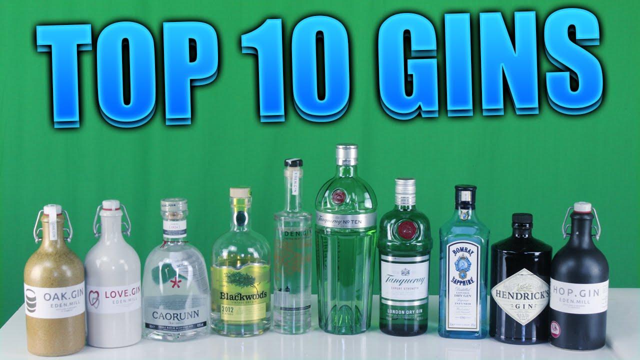 Top Ten Gins! | ThePrenti - YouTube