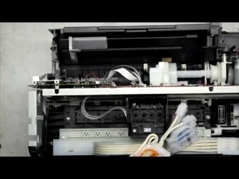 Разборка Epson L110 (Disassemble The Epson L110)