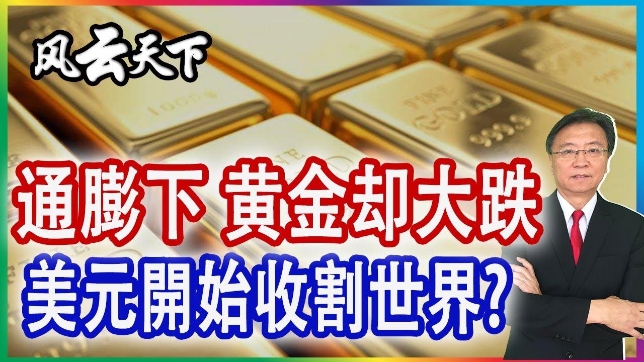 美國通膨來了 黄金竟然大跌, 美元開始收割世界? 2021 0618