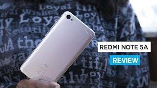 Xiaomi Redmi Note 5A Review!