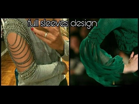 full sleeves designs (super stylish)