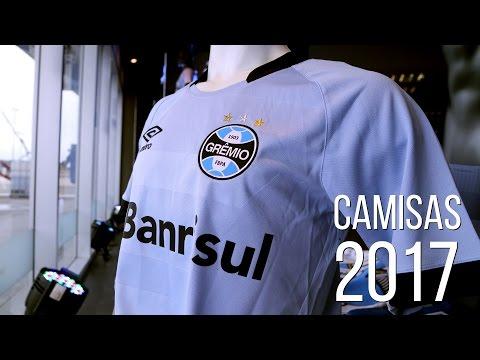 Novas camisas do Grêmio para a temporada 2017