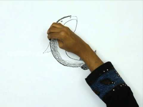 how to draw a big fish