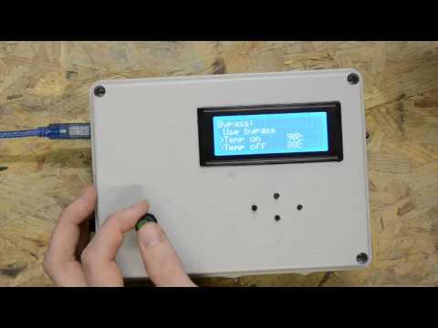 Обзор контроллера солнечных коллекторов на Arduino - своими руками
