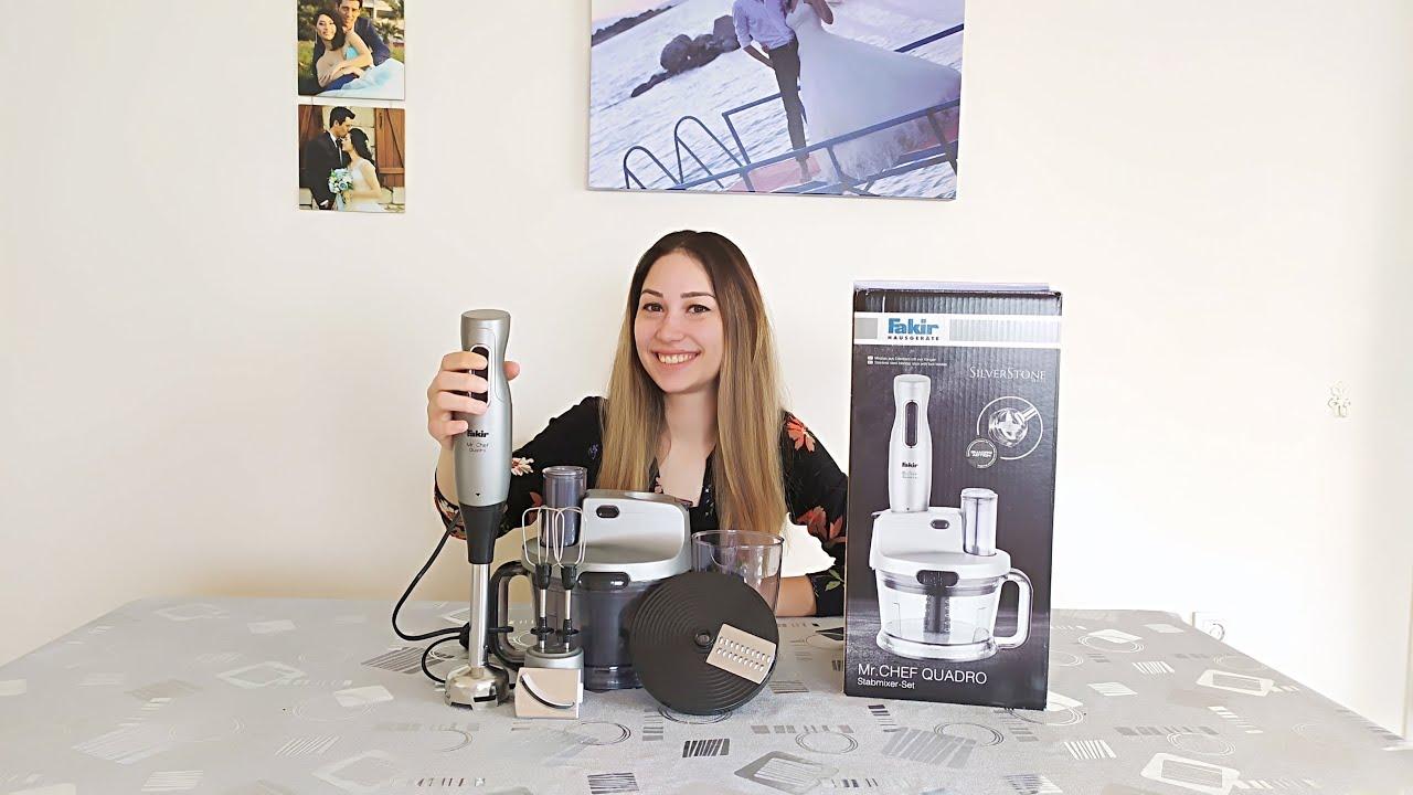 Fakir Mr Chef Quadro Mutfak Robotu / Olumlu-Olumsuz Özellikleri