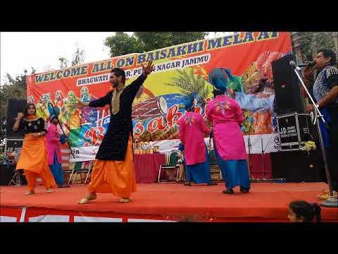 Mele vich pain Bolliyan - Beautiful Stage Dance At Baisakhi Mela Bhagwati Nagar PUran Nagar JAmmu