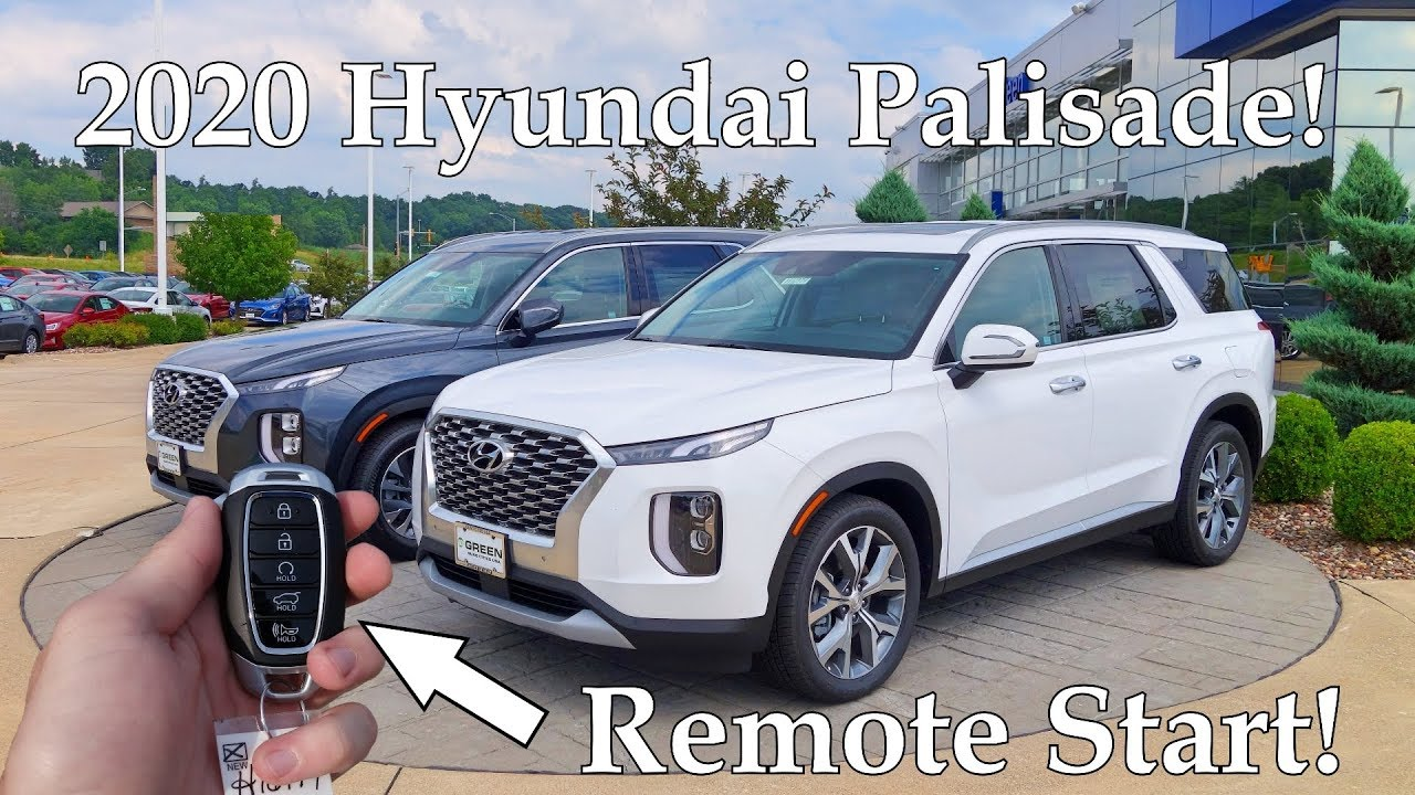 2020 Hyundai Palisade Sel Htrac Full Tour Youtube