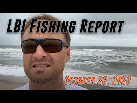 LBI Surf Fishing Report 10/26/20