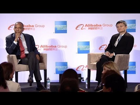 Q/A with Ken Chenault of American Express and Jack Ma of Ali