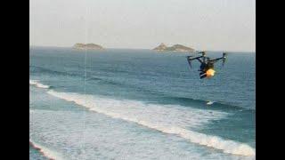 """ENVIANDO MOLETOM """"PODE DANÇAR"""" POR DRONE!"""