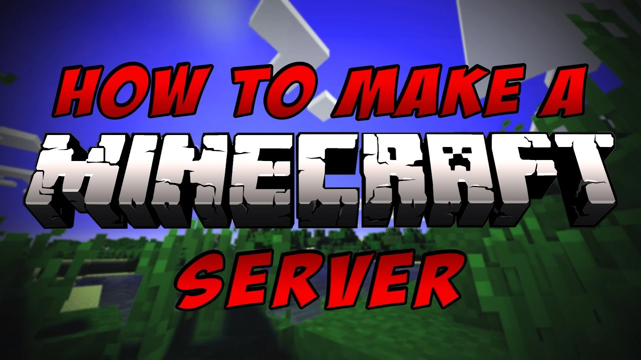 How To Make A Minecraft Multiplayer Server 1.8 - 1080p HD ...