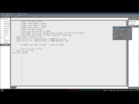 IRC Passive File Upload With Team Relay Chat