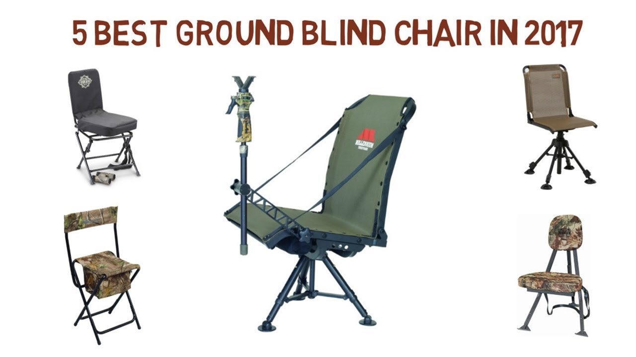 5 Best Ground Blind Chair in 2017 | Best Ground Blind ...